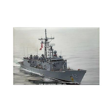 USS KLAKRING Rectangle Magnet