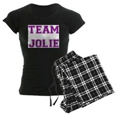 Team Jolie Purple Pajamas