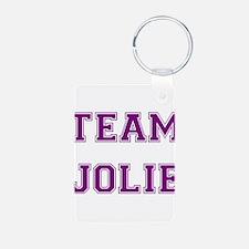 Team Jolie Purple Keychains