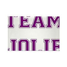 Team Jolie Purple Rectangle Magnet (10 pack)