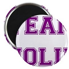 Team Jolie Purple Magnet