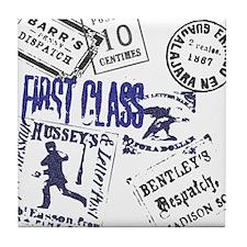1st Class Postage Tile Coaster