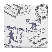Postage Tile Coaster