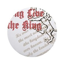 Long Live the King Ornament (Round)