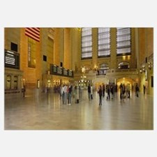 Group of people walking in a station, Grand Centra