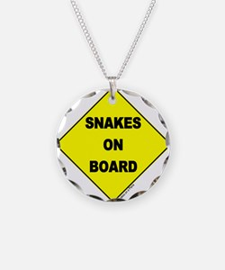 Snakes on Board Necklace