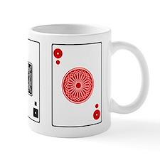 Card Trick Threesome Mug