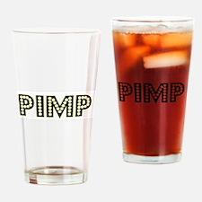 Pimp Drinking Glass