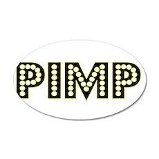 Pimp 22x14 Oval Wall Peel