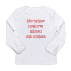 SPP Color Bleed Long Sleeve Infant T-Shirt