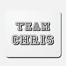 Team Chris Black Mousepad
