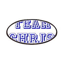 Team Chris Blue Patches