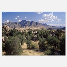 Arizona, Texas Valley, Dragoon Mountains, Clouded