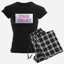 Team Jenny Pink Pajamas