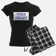 Team Jenny Blue Pajamas