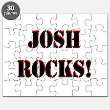 Josh Rocks (Black) Puzzle