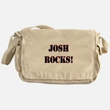 Josh Rocks (Black) Messenger Bag