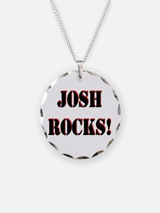Josh Rocks (Black) Necklace