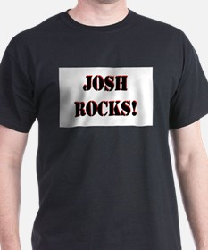 Josh Rocks (Black) T-Shirt