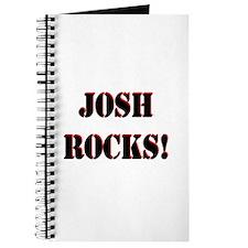 Josh Rocks (Black) Journal