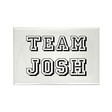 Team Josh Black Rectangle Magnet