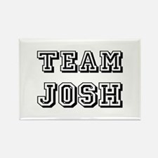 Team Josh Black Rectangle Magnet