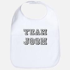 Team Josh Black Bib
