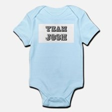 Team Josh Black Infant Bodysuit