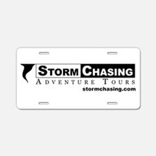 Cool Storm chasing Aluminum License Plate