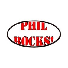 Phil Rocks (Red) Patches