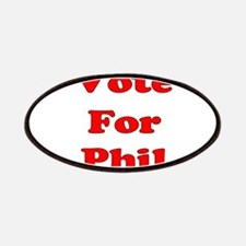 Vote for Phil (Red) Patches