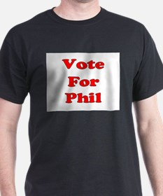 Vote for Phil (Red) T-Shirt