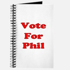 Vote for Phil (Red) Journal