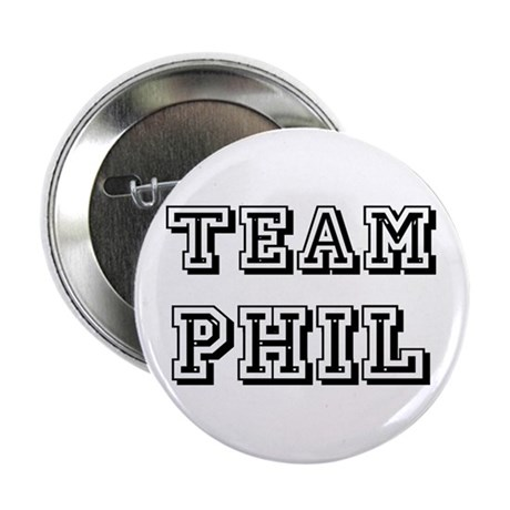 "Team Phil Black 2.25"" Button"