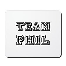 Team Phil Black Mousepad