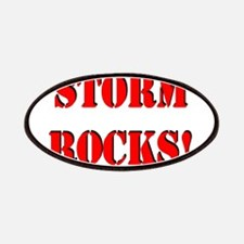 Storm Rocks (Red) Patches