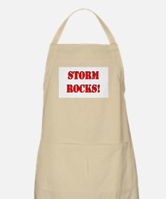 Storm Rocks (Red) Apron