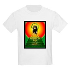Rasta Gear Shop Conquering Lion Kids T-Shirt