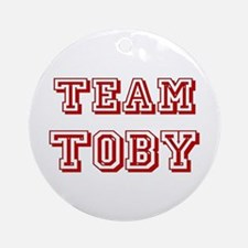 Team Toby Red Ornament (Round)