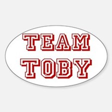 Team Toby Red Decal
