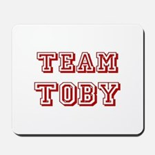 Team Toby Red Mousepad