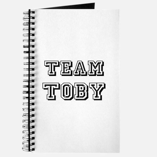 Team Toby Black Journal
