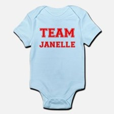 Team Janelle Red Onesie