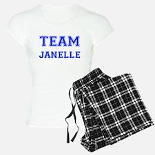Team Janelle Blue Pajamas