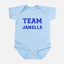 Team Janelle Blue Onesie