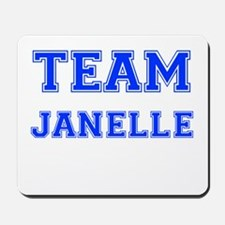Team Janelle Blue Mousepad