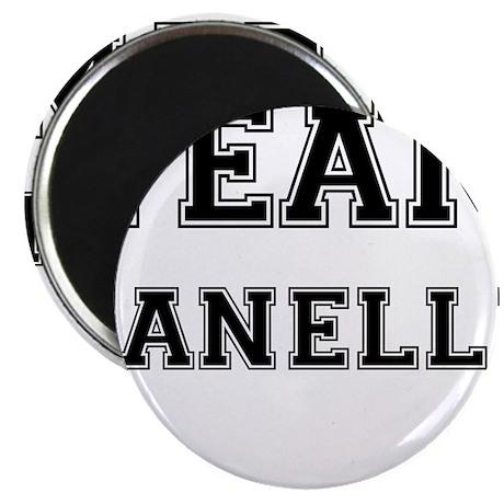 """Team Janelle Black 2.25"""" Magnet (100 pack)"""