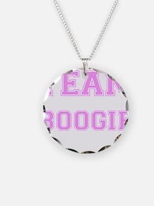Team Boogie Pink Necklace