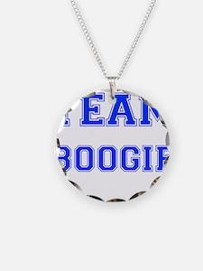 Team Boogie Blue Necklace