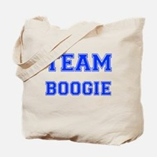 Team Boogie Blue Tote Bag